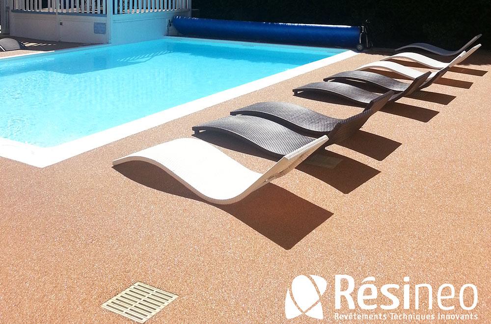Résinéo - Revêtement en résine pour piscine