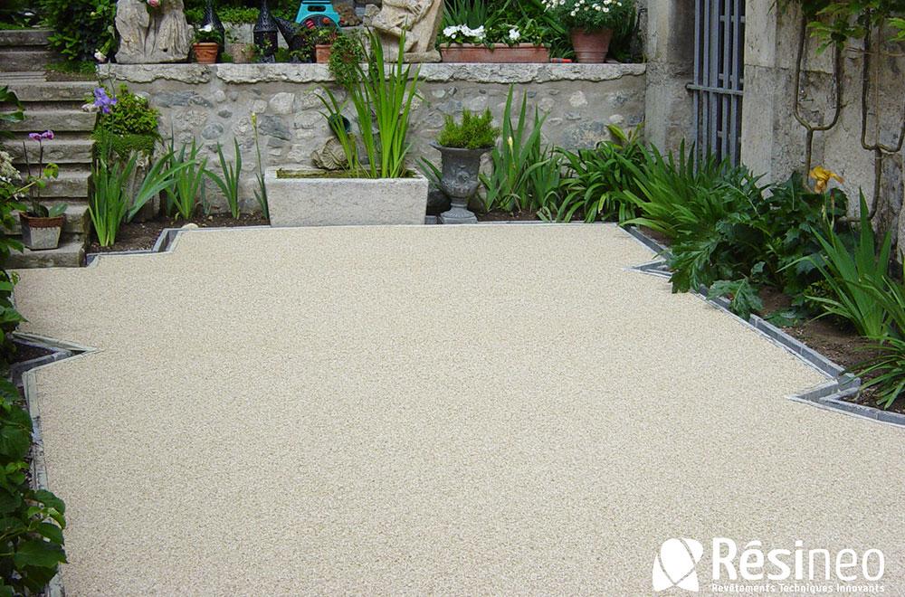 Résinéo - Revêtement en résine pour terrasse extérieure